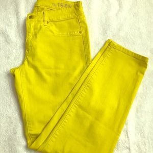 Gap legging jean 6/2r bright yellow